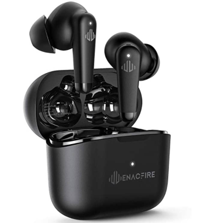 ENACFIRE Wireless Headphones, A9 Active Noise Cancelling Wireless Earbuds