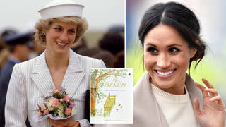 Meghan Markle revealed over the weekend that Diana's favourite flowers were hidden in the pages of The Bench