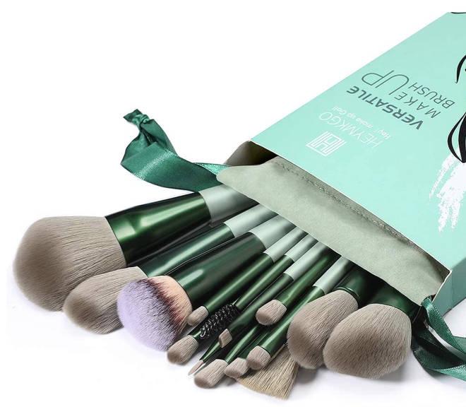 Heymkgo 15-Piece Makeup Brush Set