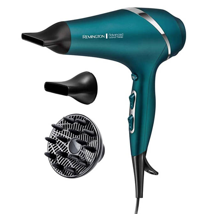 Remington Advanced Coconut Therapy Hair Dryer