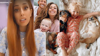 Stacey Solomon has shared a sweet update on Rex