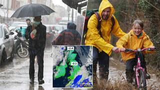 Rain is set to batter Britain this week