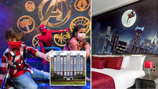 Disneyland Paris' Marvel Hotel is the family experience you need to have
