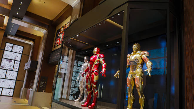 The hotel is a tribute to the Marvel characters and the artists who created them