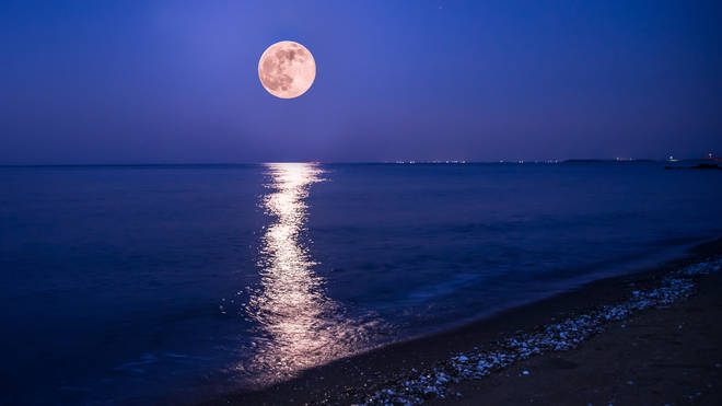 The Strawberry Full Moon will be the last Super Moon of the year