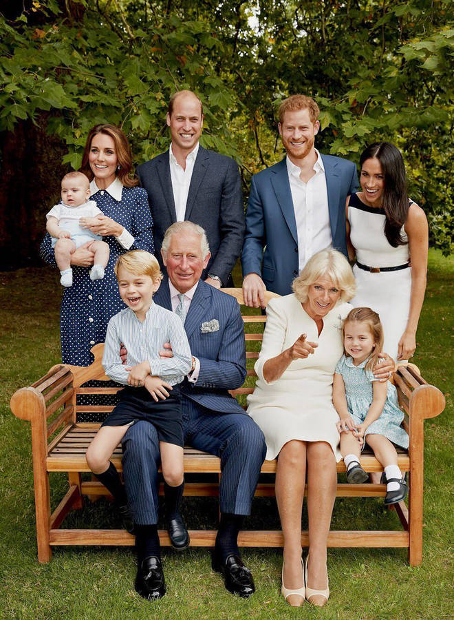 Prince Charles has been pictured with his family to celebrate turning 70