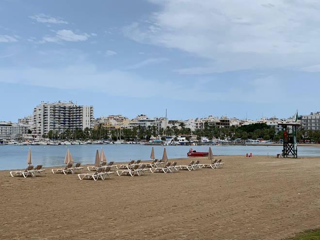Ibiza could be added to the 'green' travel list