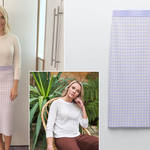 Holly Willoughby is wearing a skirt from Zara