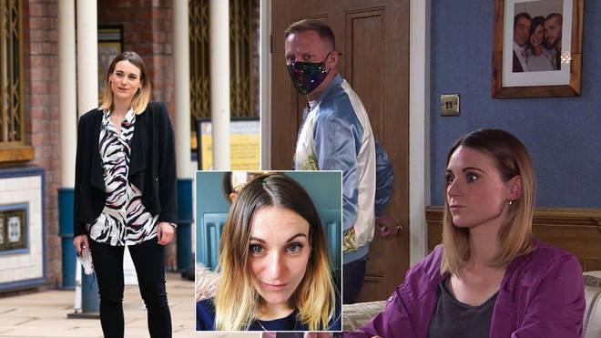 Carol Hill is Sean Tully's friend on Coronation Street