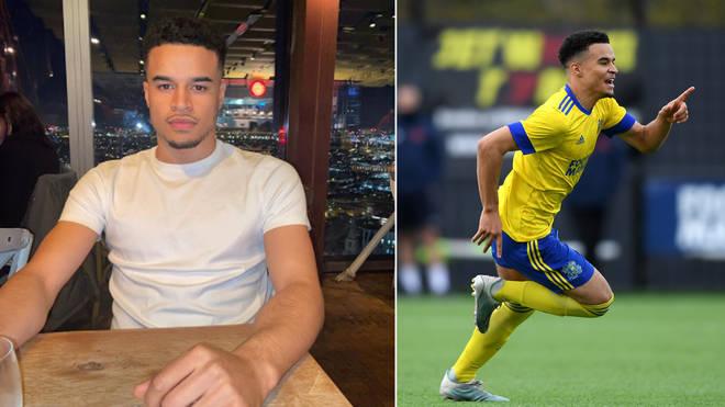 Toby Aromolara plays semi-professional football