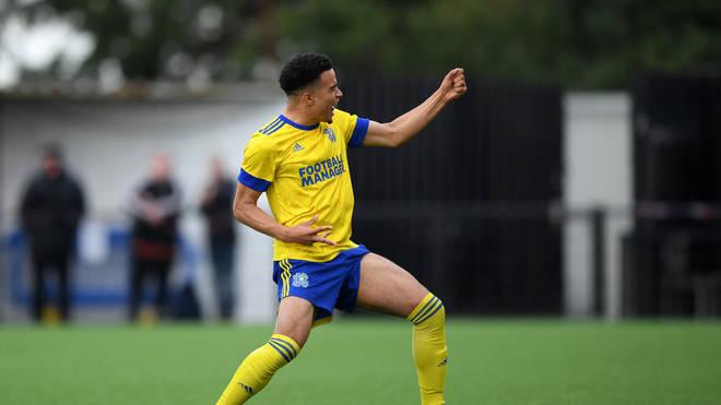 Toby Aromolaran plays for Hashtag United