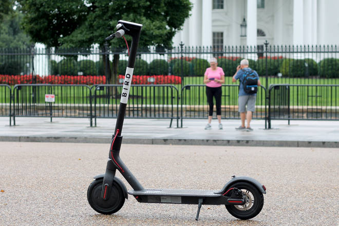 Electric scooters are becoming increasingly popular with commuters
