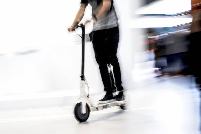 Electric scooters may look harmless but can reach top speeds of 40mph