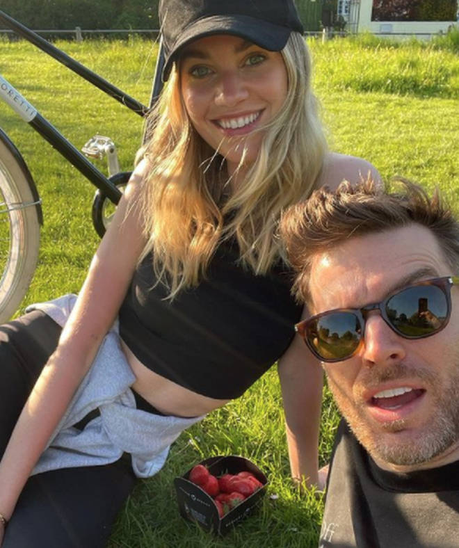 Joel Dommett and his model wife Hannah are starring on Celebrity Gogglebox