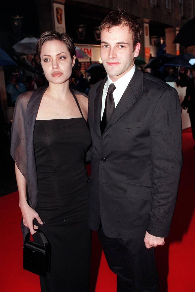 Jonny Lee Miller was married to Angelina Jolie