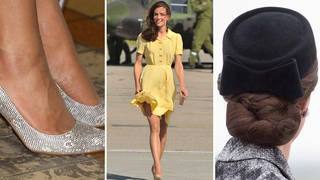 Kate Middleton knows how to keep her look polished all day long