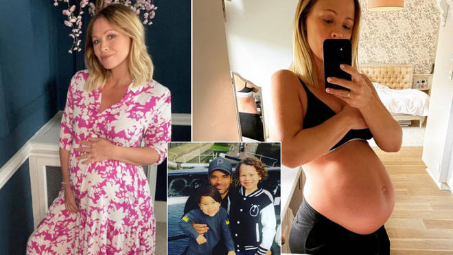 Kimberley Walsh has given birth to her third son