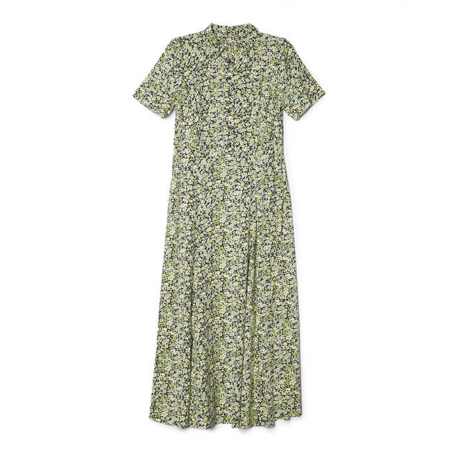 Holly Willoughby's green dress is from Albaray