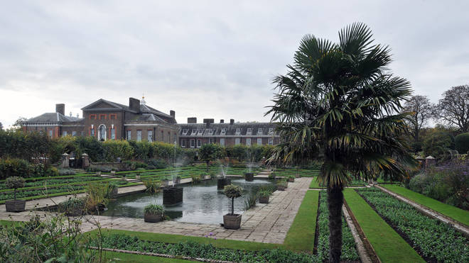 The Princess Diana statue will be placed in the Sunken Gardens at Kensington Palace