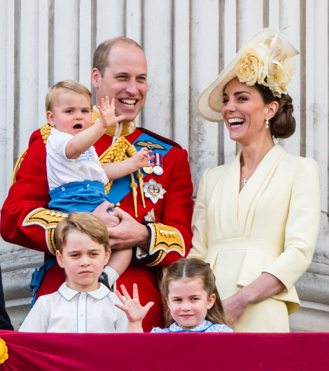 George, Charlotte and Louis sadly never got to meet their grandmother