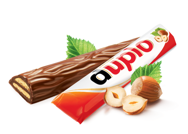 Duplo is the newest release from Italian confectionary brand Kinder