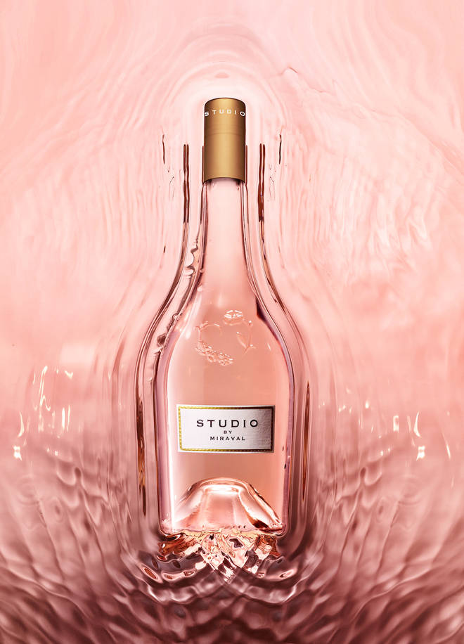 This pale pink rose is from the same chateau that makes pricey Miravel wine
