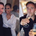 Tisha Merry and Alan Halsall have been together