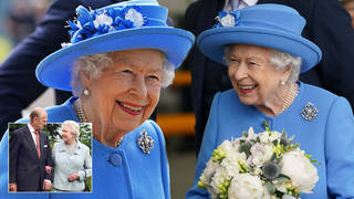 The Queen looked in good spirits as she arrived in Scotland earlier this week