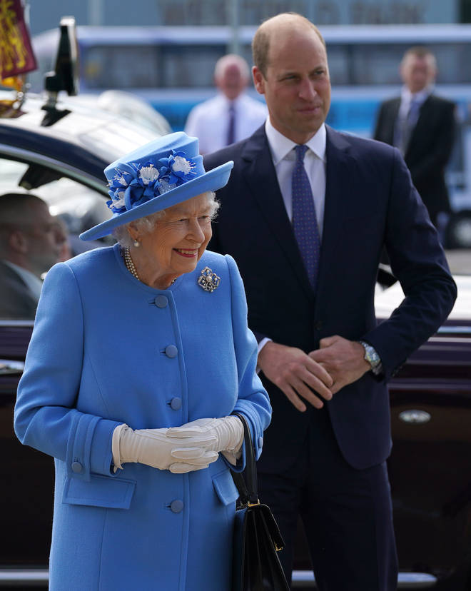 The Queen chose to wear the Pearl Trefoil Brooch for her first day in Scotland for Holyrood Week
