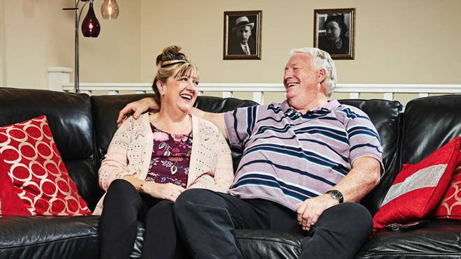Pete starred on Gogglebox with wife Linda