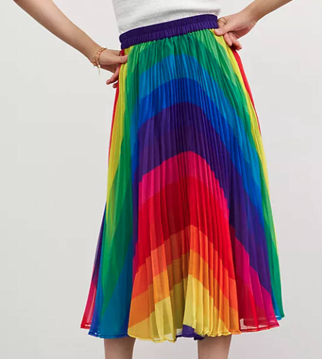 Holly Willoughby's skirt is from Anthropologie