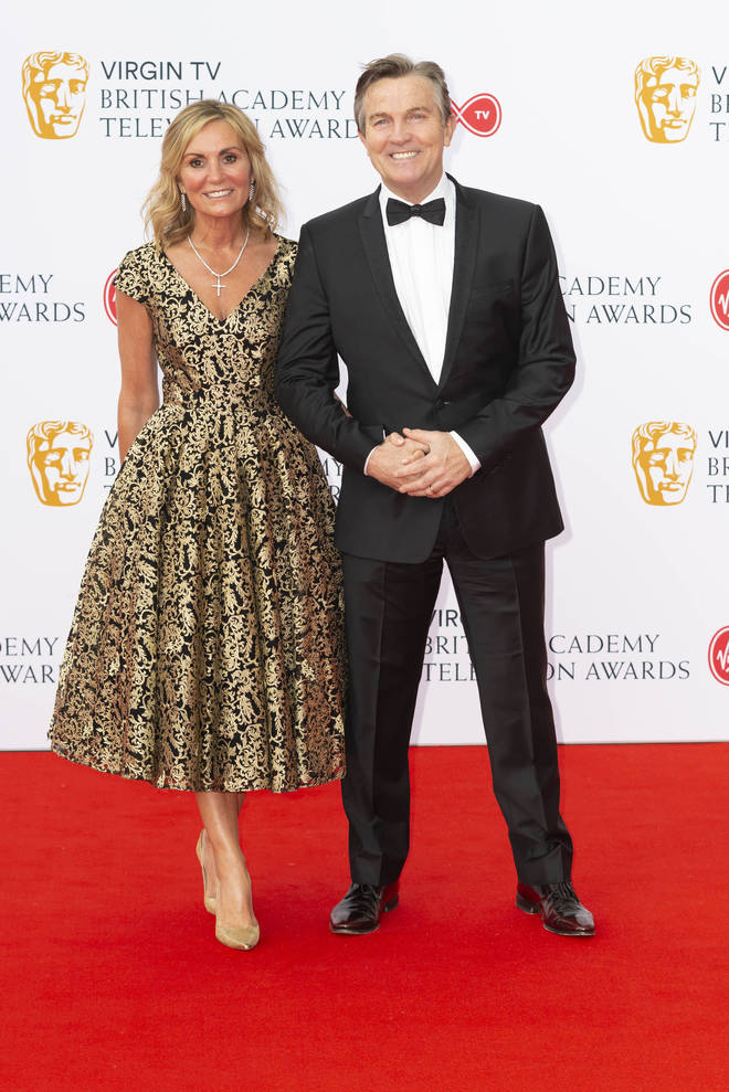 Bradley Walsh and his wife Donna
