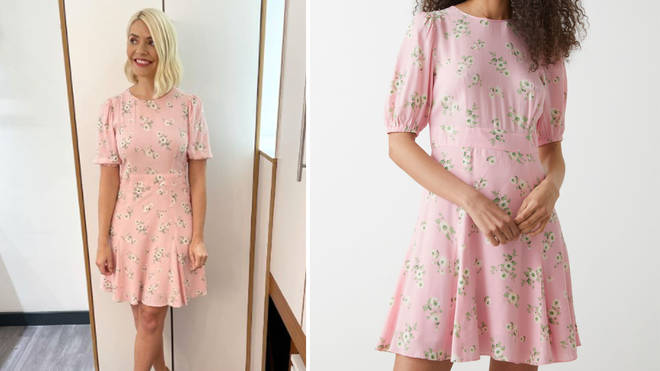 Holly Willoughby is wearing a dress from & Other Stories today