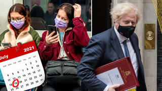 Face masks could be among one of the guidelines to be changed on July 19