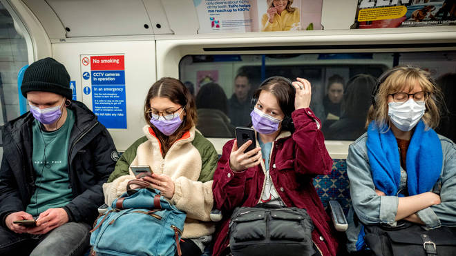 At the moment, face masks are required when on public transport