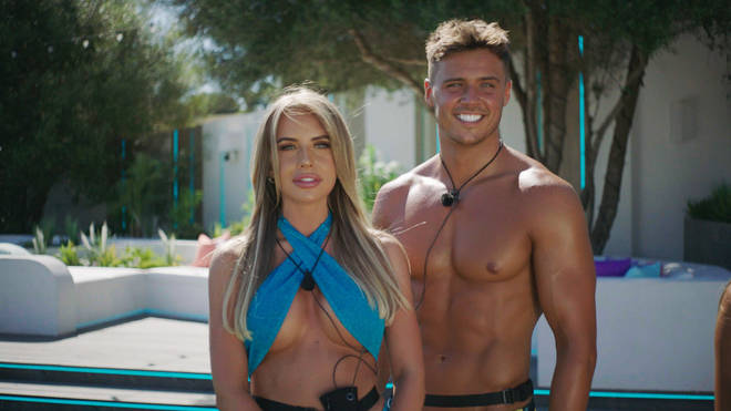 Brad is coupled up with Faye on Love Island