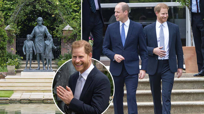 William and Harry reunited for the special event on what would have been their mother's 60th birthday