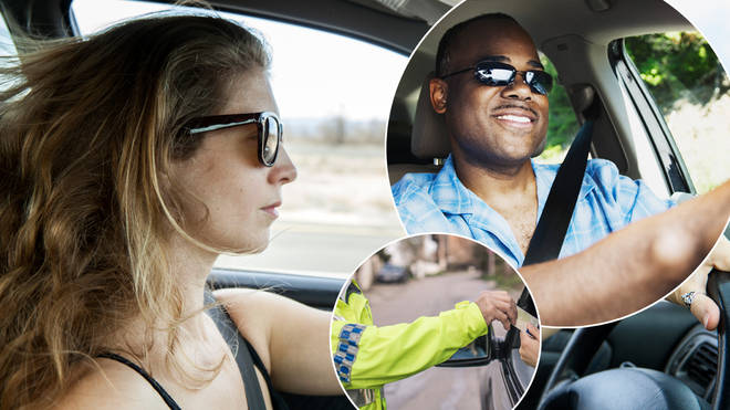 You could get a £2,500 fine for driving with sunglasses on