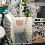 Dawn gave her bathroom an incredible makeover