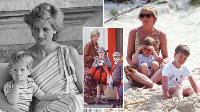 Princess Diana was a hands-on mum who loved spending with her boys
