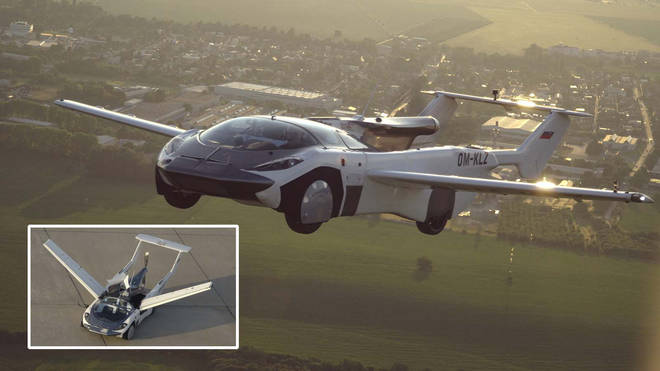 The car-aircraft is a prototype that took two years of development