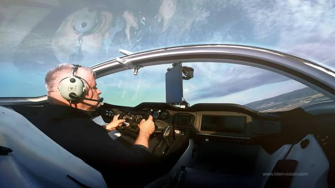 The car-aircraft was created by Professor Stefan Kleinhas