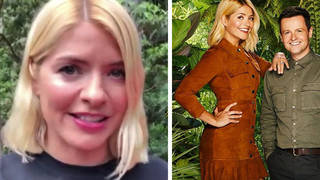 Holly Willoughby has shared an update from the I'm Celeb jungle