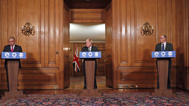 Boris Jonhson is set to hold a Downing Street press conference