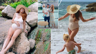 Stacey Solomon is on holiday with fiancé Joe Swash