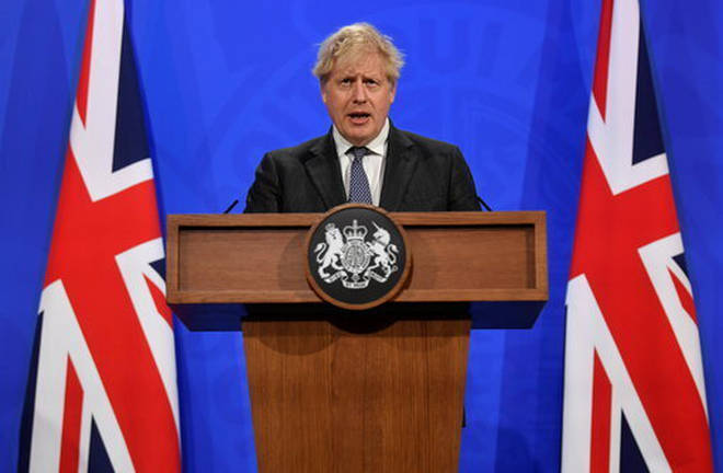 Boris Johnson will make an announcement on July 19 later today