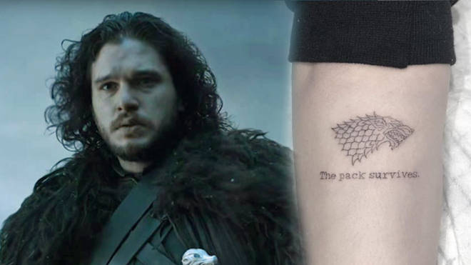 Kit Harrington tattoo