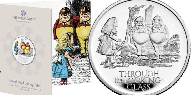 Royal Mint have unveiled new Alice in Wonderland coins