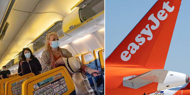 Ryanair and EasyJet passengers must continue to wear masks