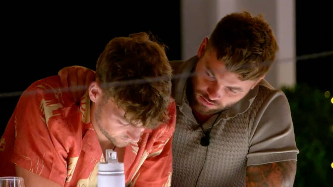 Hugo gets upset in tonight's episode when the girls take offence over some of his comments about 'fake' girls